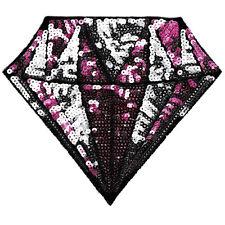 XXL Extra Large Beautiful Sequins Gem Diamond Patch 26cm Iron On Applique