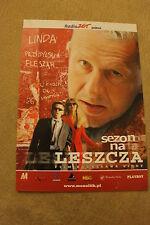 Sezon na leszcza (2001) Polish promo FLYER
