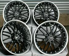 """19"""" Black 190 Alloy Wheels Fits BMW 5 6 7 8 Series Models Staggered wheels"""