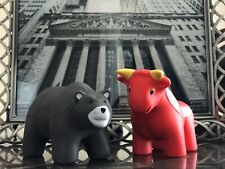 Mad Money Bull And Bear Combo Cramer Stock Market Trader Gift Wall Street Cnbc
