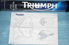 kit film de protection de reservoir Triumph STREET Triple 675 / R 2007/2012 neuf