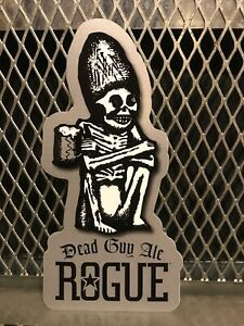 ROGUE BREWERY FARMS Oregon ~ RARE 7 HOP IPA Tap ~ Craft Beer Sign Sticker