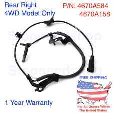 New ABS Wheel Speed Sensor for 07-14 Mitsubishi 4WD Outlander Lancer Rear Right