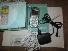 Motorola C 205  Handy  OVP von Motorola komplett gebraucht  Nr. 12045
