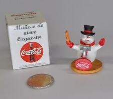 Coca-Cola Bonhomme de neige Figurine Espagne Munecos de Nieve Orquesta Director