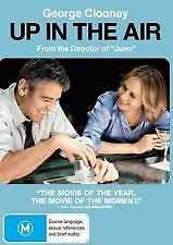 UP IN THE AIR - BRAND NEW & SEALED R4 DVD (GEORGE CLOONEY)