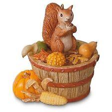 Autumn Blessings - LE 2016 Hallmark Ornament - Fall Squirrel Chipmunk Harvest