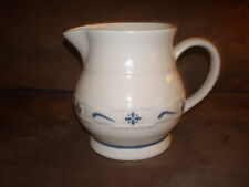 Longaberger Classic Blue Small Juice Pitcher - Made in Roseville, Ohio USA
