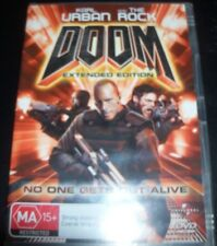 Doom (Karl Urban The Rock) Extended Version (Australia Region 4) DVD - NEW
