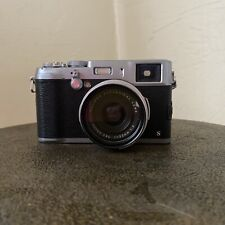 Fujifilm X100S 16.3MP Digital Camera Bundle With Batteries and Lens Filter