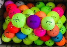 50 Mulit-Color Mix of Golf Balls AAAAA/AAAA