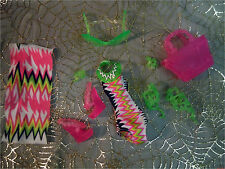 Monster High Venus McFlyTrap Beach Beasties Swim Suit Shoes Accessories Sandals