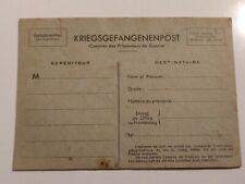 COURRIER DES PRISONNIERS DE GUERRE non circulé KRIEGSGEFANGENENPOST #WW