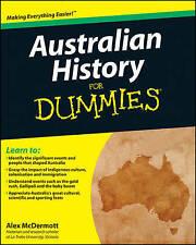 Australian History For Dummies by Alex McDermott (Paperback, 2011)