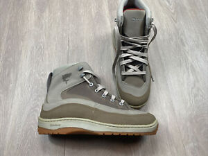 Simms Fishing Wading Boots Men's Size 9 US Beige Color Lace Up