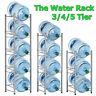Water Rack Bottle Storage 3/4/5 Tier Durable Detachable Convenient  Gallon