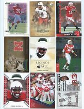 26 Different Nebraska Cornhuskers College Uniform Football Cards; 1990-2012