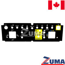 Genie 82767, 82767GT- NEW Genie Platform Control Panel Decal STOCKED IN CANADA!!
