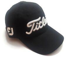New Titlelist V1 Adjustable Golf Hat Embroidered Foot Joy Black One Size