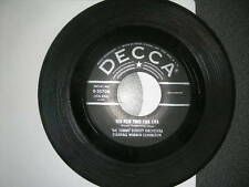 Pop 45 Tommy Dorsey Warren Covington Tea For Two/ My Baby Just Cares For Me VG