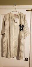 100% Authentic Don Larsen Mitchell & Ness 1956 Yankees Jersey Size 60 XXXXL