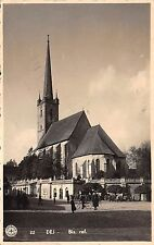 B30010 Dej Biserica Reformata des cluj real photo  romania