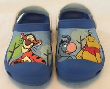Crocs Disney Winnie the Pooh and Friends Blue Size J1 EUC ff1350c4c