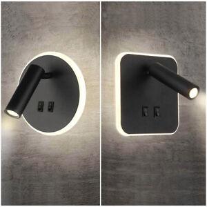 Wall lamp Wash Light Bed Spotlight Reading Hotels Indoor Bedside Light  AC220V