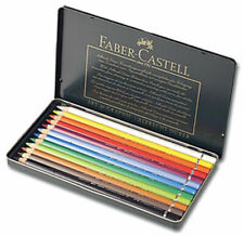 Faber-Castell Polychromos Pencils Tin Set of 12 - Assorted Colors