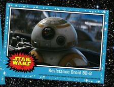 COUNTDOWN TO STAR WARS THE LAST JEDI RESISTANCE DROID BB-8 CARD 20