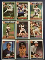 1991 Topps CHICAGO WHITE SOX Complete Team Set 33 SOSA, FRANK THOMAS Sharp LOOK