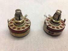 5 Meg 2W AB ALLEN BRADLEY Type J Potentiometers Carbon Pots Lock Tube Amplifier