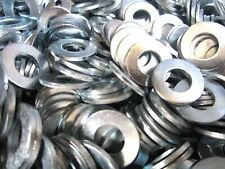 500 3/8 SAE Flat Washers Zinc Plated