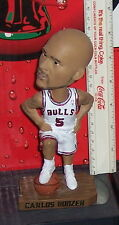 CHICAGO BULLS  CARLOS BOOZER BOBBLEHEAD LIMITED EDITION NO BOX STADIUM GIVEAWAY