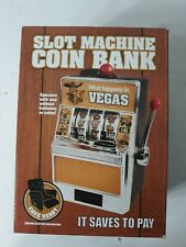 Slot Machine Coin Bank It Saves To Pay Awesome Stuff For Your  Man Cave