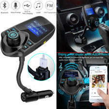Bluetooth Car FM Transmitter Wireless Radio Adapter USB Charger For iPhone 6S 7