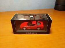 Minichamps 1:43 #430142620  1997 Corvette RED Six Car Case