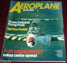 Aeroplane Monthly 1984 January SR71 Blackbird,Dornier Kornet,Airspeed Tern