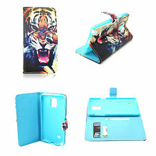 Magnetic Flip Leather Wallet Soft Cover Case Pouch For Samsung Galaxy Note 4 IV