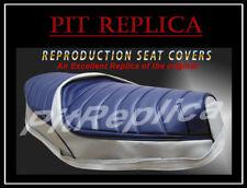 [PRA]HONDA CH250 ELITE SPACY 1985 1986 1987 1988 HEAT PRESSED SEAT COVER [HSLSO]
