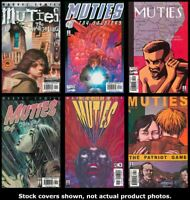Muties 1 2 3 4 5 6 Marvel 2002 Complete Set Run Lot 1-6 VF/NM