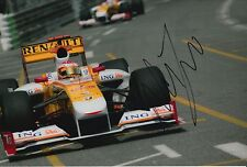 Nelson Piquet Jr Hand Signed ING Renault F1 12x8 Photo 2.