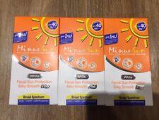 3x30g Minus Sun Sol Facial Sun Protection SPF40PA+ Oil Control White Color Silky