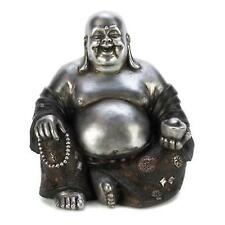 Gifts & Decor Happy Sitting Buddha Inspirational Religious Statue 14581