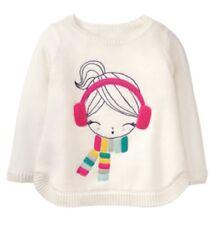New Gymboree Girl Scarf Earmuffs Sweater NWT Ice Dancer Girls 12-18 M