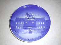 "1895-1970 Bing & Grondahl B & G Jule Aften Christmas Eve 9"" Plate Royal Palace"