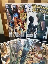 BATMAN AND THE OUTSIDERS (2007) #1-4,6-10, DC Comics