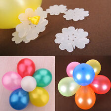 5Pcs BALLOON CLIPS SEAL TO FORM FLOWER SHAPE MODEL WEDDING PARTY Birthday
