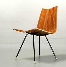 Hans Bellmann, Stuhl GA für Horgen Glarus 1955 Teak Vintage Chair Switzerland