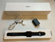 Apple Watch Series 3 38mm Space Gray Aluminium Case with Gray Sport Band USED